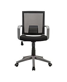 Techni Mobili Modern Office Mesh Task Chair, Quick Ship