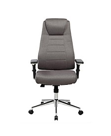 Techni Mobili Comfy Adjustable Home Office Chair