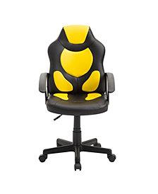 Techni Mobili Kids Gaming Chair, Quick Ship