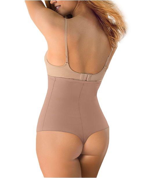 4dba36540 Leonisa Women s High-Waist Control Thong 012939   Reviews - Bras ...