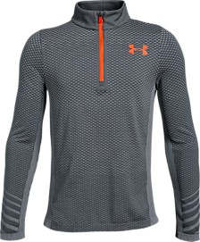 Under Armour Big Boys Seamless ¼ Zip