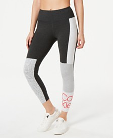 Calvin Klein Performance Colorblocked Logo Ankle Leggings
