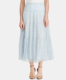 Lauren Ralph Lauren Printed Peasant Skirt