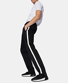 A|X Armani Exchange Men's Regular-Fit Stretch Side-Stripe Pants