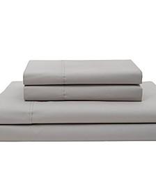 Cotton Percale King Sheet Set