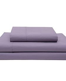 Cotton Percale California King Sheet Set