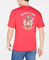 5c17fca9a10 Tommy Bahama Men's Keeper Of The Flame Logo Graphic T-Shirt
