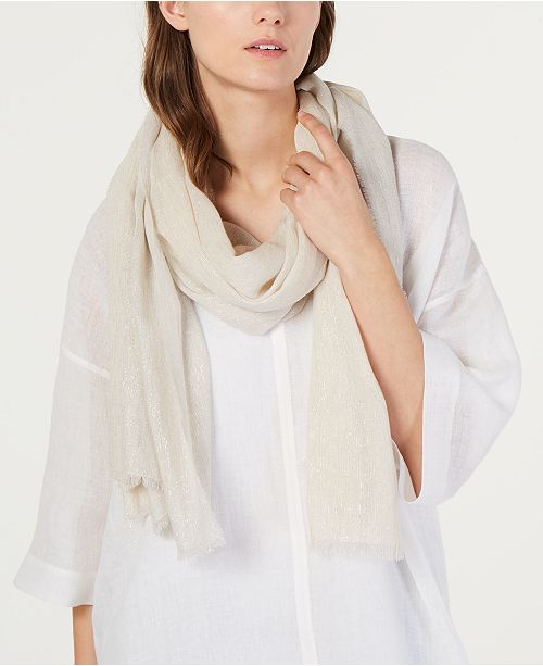 Eileen Fisher Shimmer Wrap