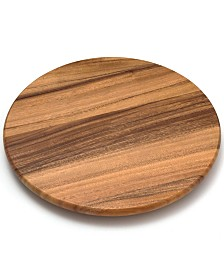 "Lipper International 16"" Acacia Lazy Susan"