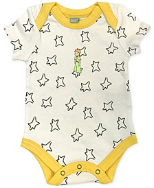 Little Prince Baby Girls & Boys Organic Cotton 2-Pc. Bodysuit & Bib Set
