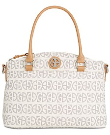 Giani Bernini Block Signature Mini Satchel, Created for Macy's