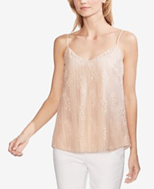 Vince Camuto Lace-Up Camisole Top