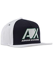 A|X Armani Exchange Men's Logo Graphic Hat