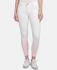 DKNY Ombré Skinny Jeans