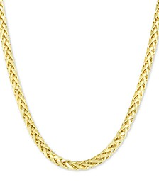 "Franco Link 24"" Chain Necklace (4.1mm) in 10k Gold"
