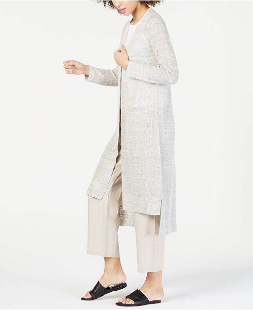 Eileen Fisher Cardigan & Cropped Pants