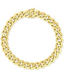 Cable Link Bracelet in 10k Gold