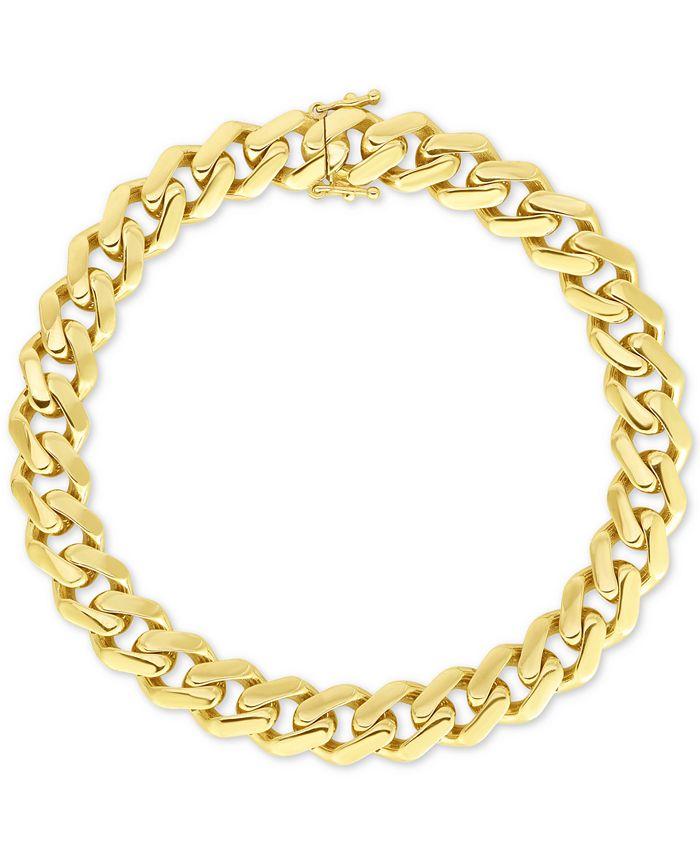 Macy's - Curb-Link Bracelet in 10k Gold
