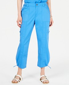 Style & Co Comfort-Waist Curvy-Fit Capri Pants, Created for Macy's