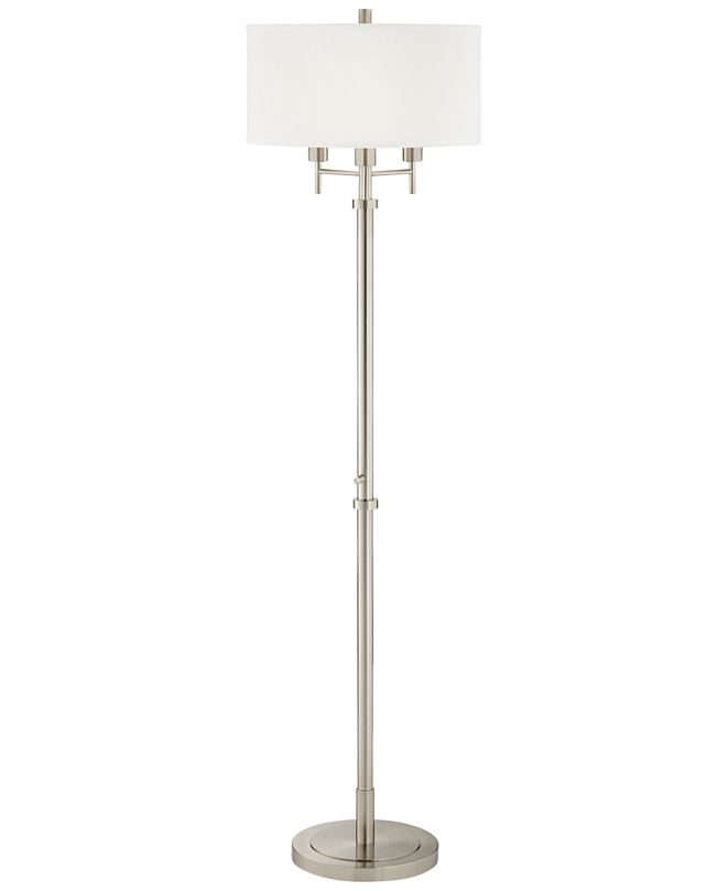 Pacific Coast 3 Light Single Shade Floor Lamp