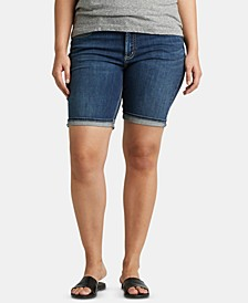 Plus Size Suki Bermuda Jean Shorts