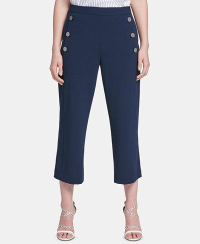 DKNY Cropped Sailor Pants