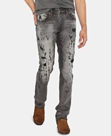 d567a3cc0a2 Buffalo David Bitton Men s Max-X Distressed Skinny Fit Jeans