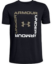 8420d4a1d Under Armour Big Boys Box Logo T-Shirt
