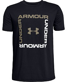 Under Armour Big Boys Box Logo T-Shirt