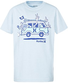 Hurley Little Boys Ahoy Graphic T-Shirt