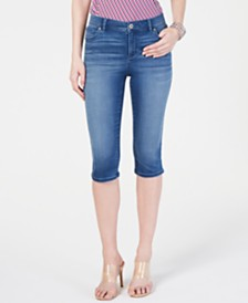 I.N.C. Petite INCfinity Skimmer Jeans, Created for Macy's