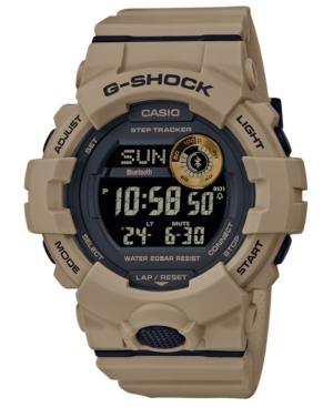 Men's Digital Khaki Resin Strap Watch 48.6mm
