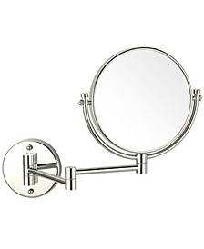 Glimmer Double Sided Wall-Mounted 3x Makeup Mirror