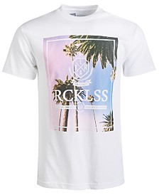 Young & Reckless Men's Pacific Sunrise Logo Graphic T-Shirt