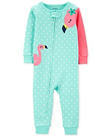 Carter's Toddler Girls Cotton Flamingo Pajamas