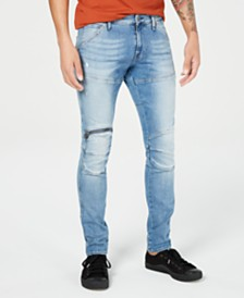 G-Star Raw Men's Skinny-Fit Jeans, Created for Macy's