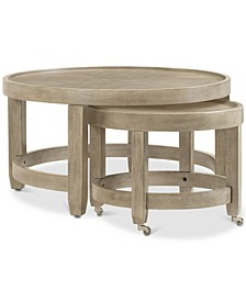 Talulah Round Cocktail Nesting Table