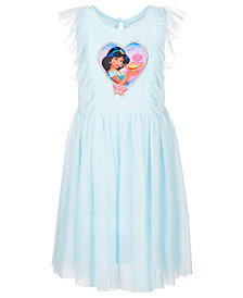 Disney Toddler Girls Clip Dot Jasmine Dress, Created for Macy's