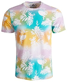Men's Knockout Floral Graphic T-Shirt, Created for Macy's