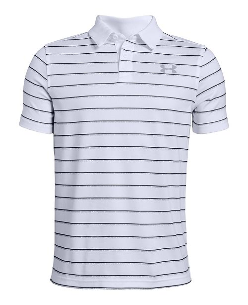 cae26d170 Under Armour Big Boys Striped Polo & Reviews - Shirts & Tees - Kids ...