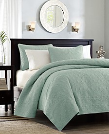 Quebec 3-Piece King/California King Coverlet Set
