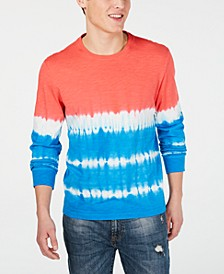 Men's Tie Dye Long-Sleeve T-Shirt, Created for Macy's