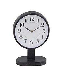 Modern Round Iron Table Clock