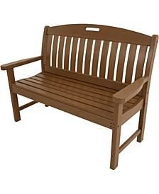"Avalon All-Weather 48"" Porch Bench - 37.5"" x 51.75"" x 64"""