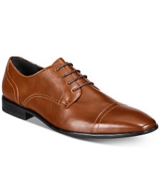 Alfani Men's Quincy Cap-Toe Lace-Up Shoes, Created for Macy's