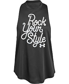 Under Armour Big Girls Rock Your Style Tank