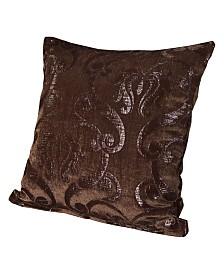 """Siscovers Casablanca 26"""" Designer Euro Throw Pillow"""