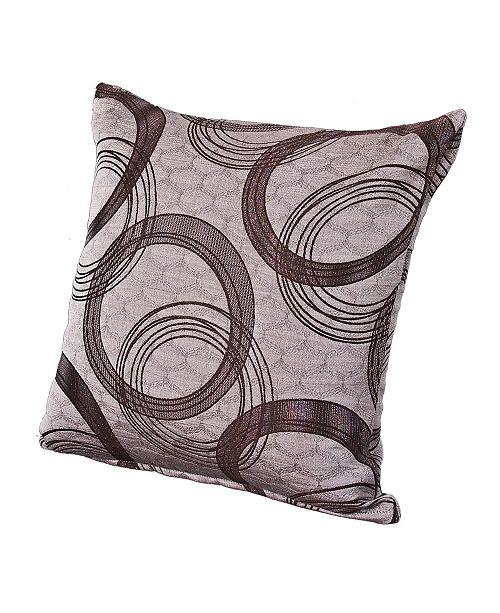 "Siscovers Brandon 16"" Designer Throw Pillow"