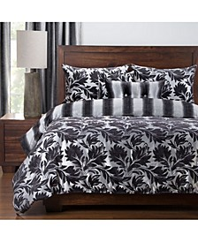 Ciro 6 Piece Full Size Luxury Duvet Set