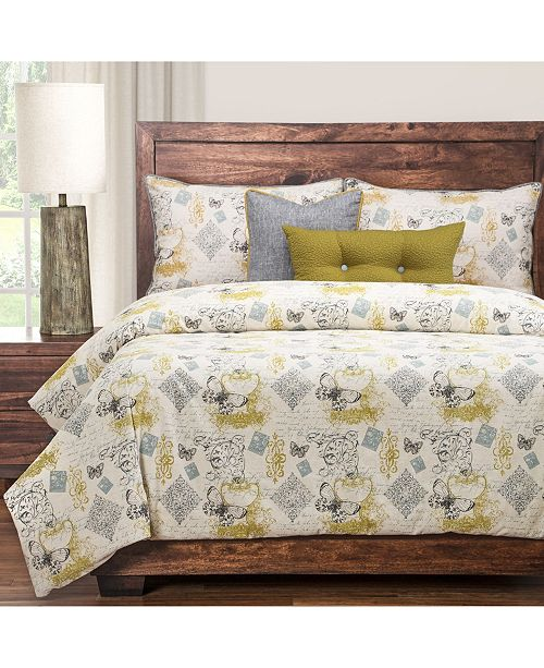Siscovers Meritage 6 Piece Cal King High End Duvet Set